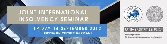 INSOL Europe/Ernst Jaeger Institute Joint International Insolvency Seminar