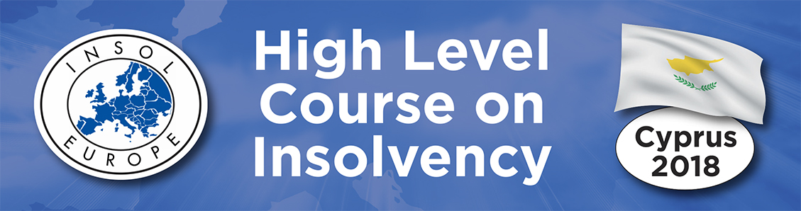 INSOL Europe High-Level Course on Insolvency: Cyprus 2018